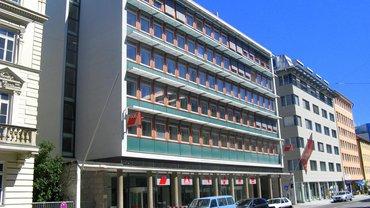 Straßenansicht Gewerkschaftshaus München