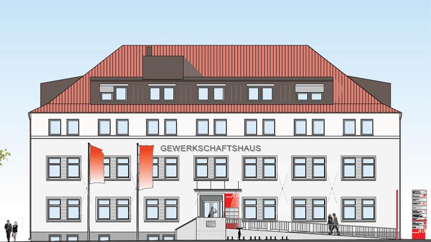 Gewerkschaftshaus Niederbayern