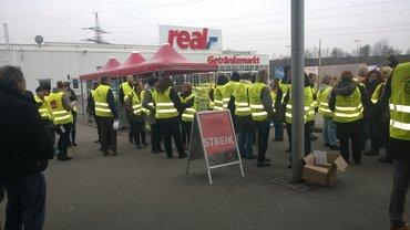 Streik Real Pentling