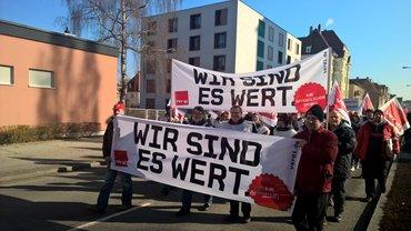 Streik in Regensburg