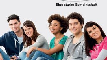 GUV und ver.di ein Starkes Team - auf dem Bild sieht man junge Menschen