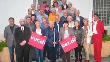 Jubilarehrung 2017 des Ortsverein Straubing