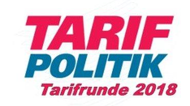 Logo der Tarifrunde 2018