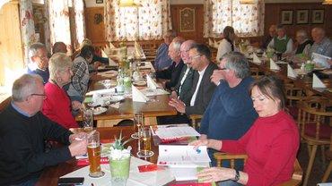 Mitgliederversammlung des SeniorInnen-Ausschuss im Ortsverein Landshut am 15.03.2018