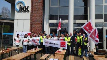 Warnstreik IKK classic 16.04.2018