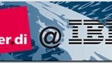IBM @ ver.di Logo