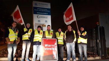 Streiks in der bayerischen Druckindustrie