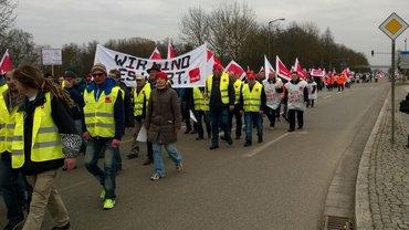 TdL-Warnstreik in Regensburg
